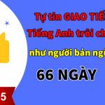 Hành trình 66 Ngày tự tin giao tiếp như người bản ngữ – Dành cho người mới!